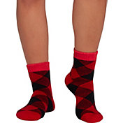 Northeast Outfitters Team Buffalo Check Cozy Cabin Crew Socks