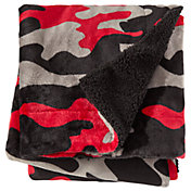 Northeast Outfitters Cozy Camo Sherpa Blanket