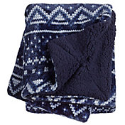 Northeast Outfitters Cozy Nordic Sherpa Blanket