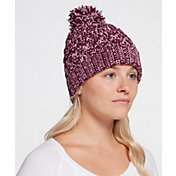Northeast Outfitters Women's Cozy Chenille Pom Beanie