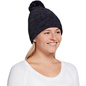 Northeast Outfitters Women's Cozy Metallic Pom Beanie