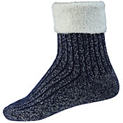 Northeast Outfitters Women's Metallic Cozy Cabin Cuffed Socks