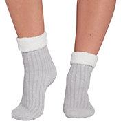 Northeast Outfitters Women's Rib Crew Cozy Cabin Cuffed Socks