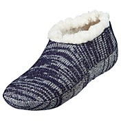 Northeast Outfitters Women's Metallic Cozy Cabin Slipper Socks