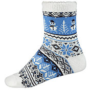Northeast Outfitters Women's Nordic Snow Day Cozy Cabin Crew Socks