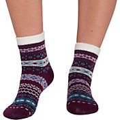 Northeast Outfitters Women's Tribal Color Pop Cozy Cabin Socks