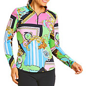 IBKUL Women's Timeout Long Sleeve Golf Top