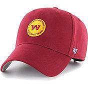 '47 Youth Washington Football Team Red Basic MVP Adjustable Hat