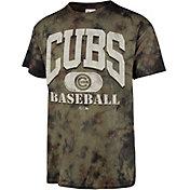 '47 Men's Chicago Cubs Camo Foxtrot T-Shirt