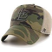 '47 Men's St. Louis Cardinals Camo Branson MVP Adjustable Hat