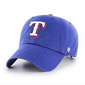 '47 Men's Texas Rangers Royal Clean Up Adjustable Hat
