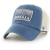 '47 Men's Kansas City Royals Blue Clean Up Adjustable Hat
