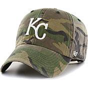 '47 Men's Kansas City Royals Camo Clean Up Adjustable Hat