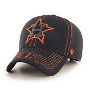 '47 Men's Houston Astros Black Battalion MVP Adjustable Hat