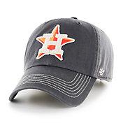'47 Men's Houston Astros Charcoal Cronin Clean Up Adjustable Hat