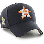 '47 Men's Houston Astros Navy Snapback Adjustable MVP Hat