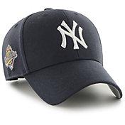 '47 Men's New York Yankees Navy Snapback Adjustable MVP Hat