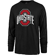'47 Men's Ohio State Buckeyes Long Sleeve Black T-Shirt