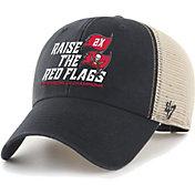 '47 Men's Super Bowl LV Champions Tampa Bay Buccaneers Flagship Black MVP Hat