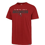 '47 Men's Tampa Bay Buccaneers Red Traction Super Rival T-Shirt