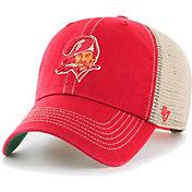 '47 Men's Tampa Bay Buccaneers Trawler Red Clean Up Hat
