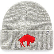 '47 Men's Buffalo Bills Grey Brain Freeze Cuffed Knit Beanie