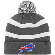 '47 Men's Buffalo Bills Grey Breakaway Cuffed Knit Hat