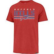 '47 Men's Buffalo Bills Red Stripe Franklin T-Shirt