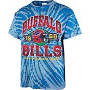 '47 Men's Buffalo Bills Tie Dye Tubular T-Shirt
