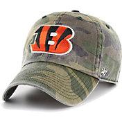 '47 Men's Cincinnati Bengals Camo Adjustable Clean Up Hat