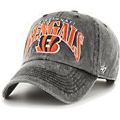 '47 Men's Cincinnati Bengals Black Apollo Adjustable Hat