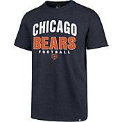 '47 Men's Chicago Bears Navy Trackdown Club T-Shirt