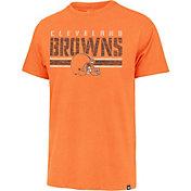 '47 Men's Cleveland Browns Orange Franklin Stripe T-Shirt