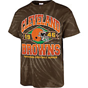 '47 Men's Cleveland Browns Tie Dye Tubular T-Shirt