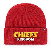 '47 Men's Kansas City Chiefs Red 'Chiefs Kingdom' Brain Freeze Cuffed Knit Beanie