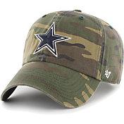 '47 Men's Dallas Cowboys Camo Clean Up Adjustable Hat