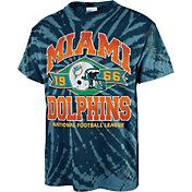 '47 Men's Miami Dolphins Tie Dye Tubular T-Shirt
