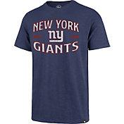 '47 Men's New York Giants Blue Offset Scrum T-Shirt