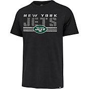 '47 Men's New York Jets Black Stripe Franklin T-Shirt