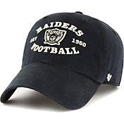 '47 Men's Las Vegas Raiders Black Brockman Legacy Adjustable Hat