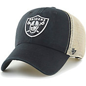 '47 Men's Las Vegas Raiders Black Flagship MVP Adjustable Hat