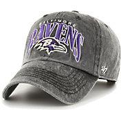 '47 Men's Baltimore Ravens Black Apollo Adjustable Hat