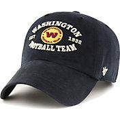 '47 Men's Washington Football Team Black Reign Brockman Adjustable Hat