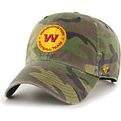 '47 Men's Washington Football Team Camo Reign Clean Up Adjustable Hat