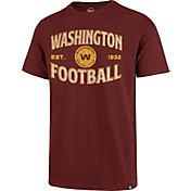 '47 Men's Washington Football Team Dark Red Offset Scrum T-Shirt