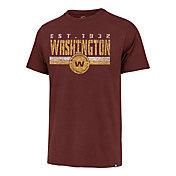 '47 Men's Washington Football Team Red Franklin Stripe T-Shirt