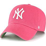 '47 Men's New York Yankees Berry Ballpark Clean Up Adjustable Hat