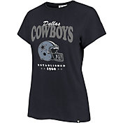 '47 Women's Dallas Cowboys Navy Rally Cry T-Shirt