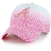 '47 Youth Atlanta Braves Rainbow Groovy Clean Up Adjustable Hat