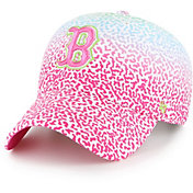 '47 Youth Boston Red Sox Rainbow Groovy Clean Up Adjustable Hat